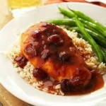 cranberry crockpot chicken