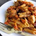 mediterean chicken and pasta