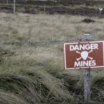 land-mines-sign