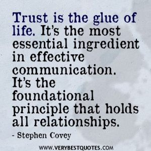 Trust relationship when in has broken been a Are Your